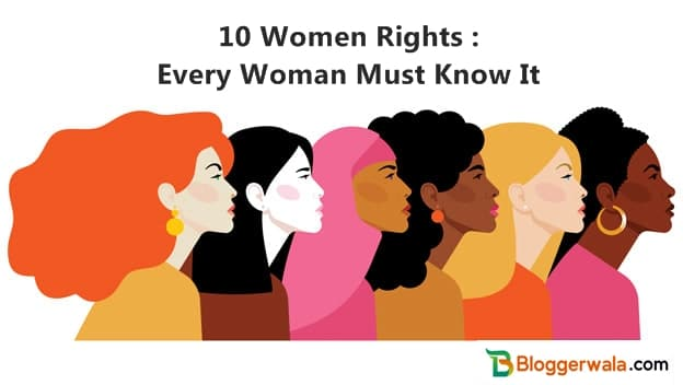 10 Women Rights Every Woman Must Know It