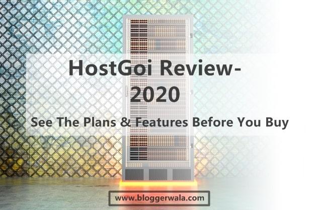 Hostgoi Review - The Best Web Hosting India