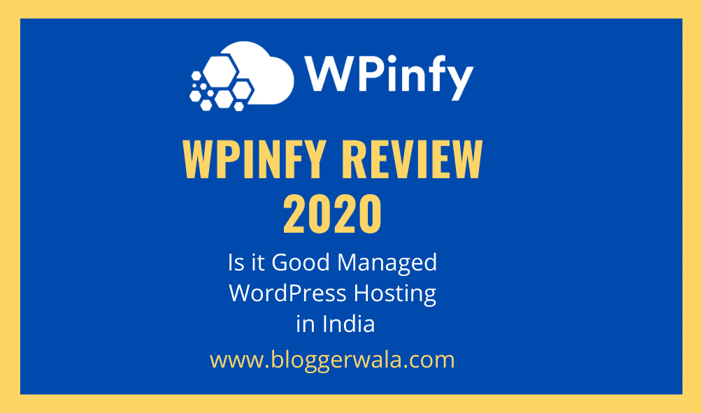WPinfy Review 2020 - Managed WordPress Hosting India