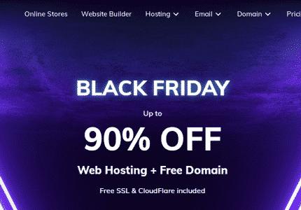 Hostinger Black Friday Deal,