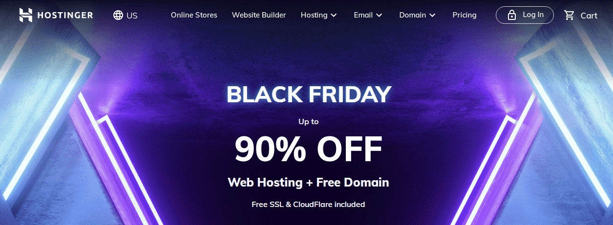 Hostinger Black Friday Deal,