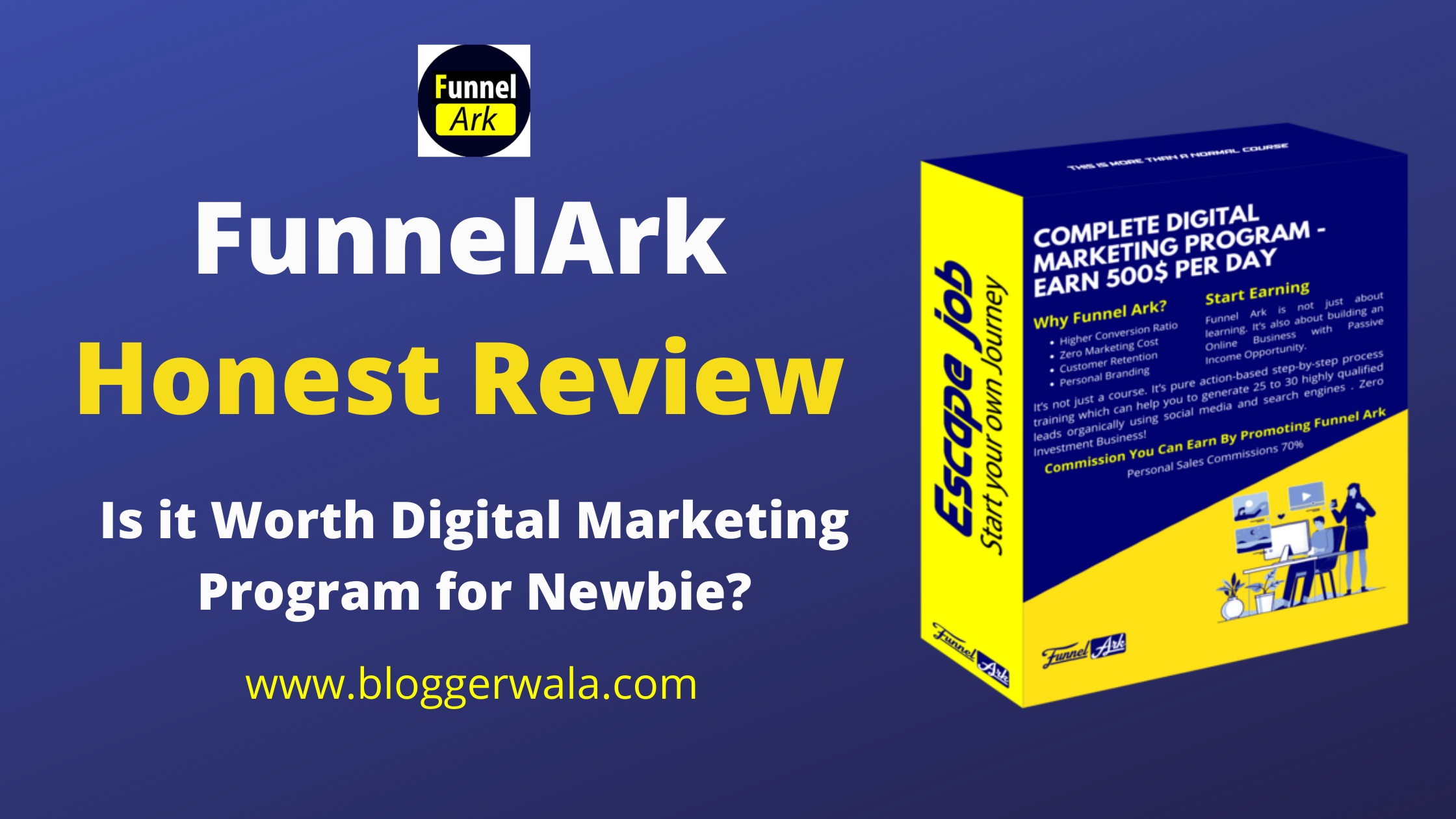 FunnelArk is the most popular digital marketing program online