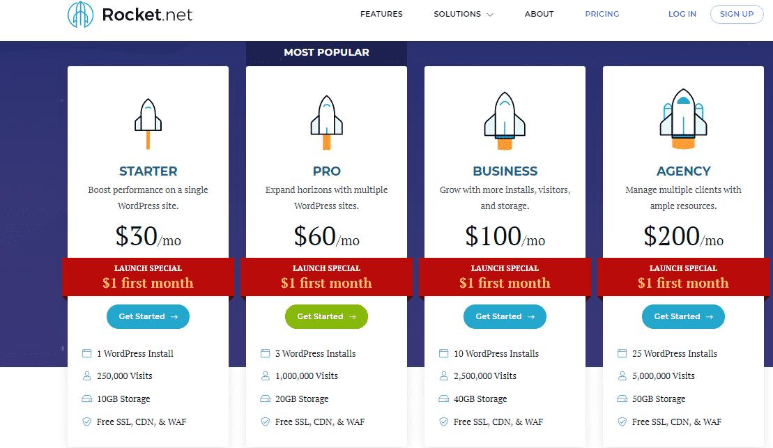 rocket.net plans