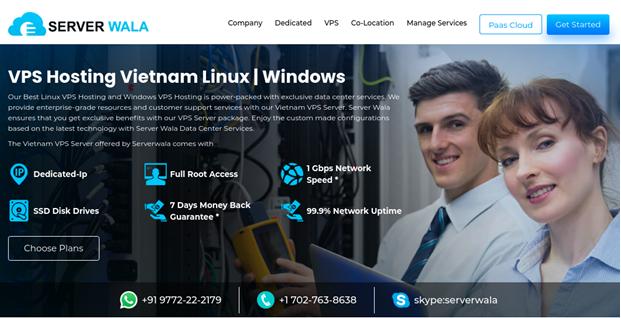 Serverwala - Best VPS Server in Vietnam